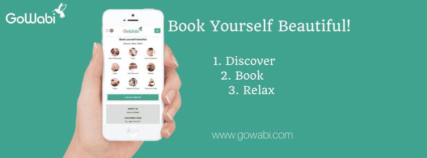 Gowabi book now banner